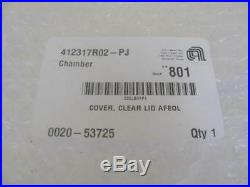 AMAT Applied Materials 0020-53725 Cover Clear Lid AFREOL New Surplus